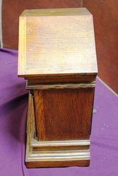 Lovely Oak Mantle Clock