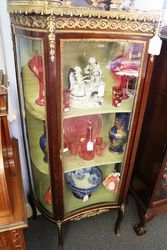 Lovely Small C20th French Single Door Vitrine