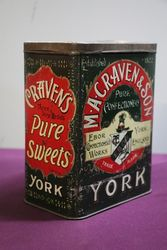 MACraven and Son York England Pure Confectionery Tin