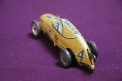 MARX Toy Clockwork Tinplate Single Seater Racing Car