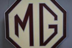 MG Double Sided Aluminium Sign