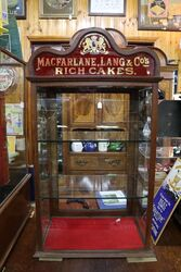 MacFarlane Lang and Co Rich Cakes Advertising Cabinet