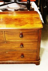 Mahogany 4 Drawer Chest
