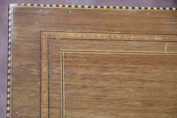 Mahogany Inlaid Sewing Box C190010