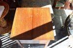 Mahogany Inlayed Sewing Box