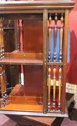 Mahogany Revolving Bookcase c1910