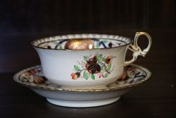 Maintain Breakfast Cup and Saucer Pattern No 615  C1825