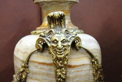 Marble And Gilt Urn