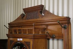 Marble Top Hall Stand