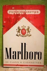 Marlboro Double Sided Aluminium Advertising Sign