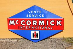 McCormick International HIH Enamel Advertising Sign