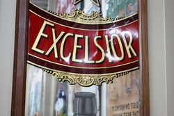 McKenzies Excelsior Large Pictorial Advertising Mirror