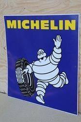 Michelin Aluminum Advertising Sign