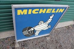 Michelin Double Side Aluminium Advertising Sign