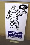 Michelin Double Sided Advertising Board Sign.