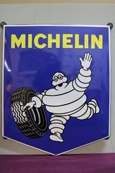 Michelin Enamel Advertising Sign
