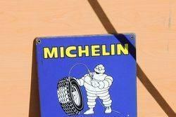 Michelin Enamel Tyre Chart