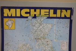 Michelin Map Of UK Tin Sign