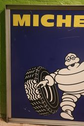 Michelin Sign With Aluminium Framed