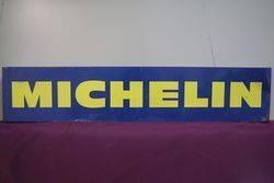 Michelin Tin Advertising Sign