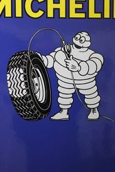 Michelin Tyre Chart Enamel Sign