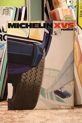 Michelin XVS Radial Tyre Tin Sign