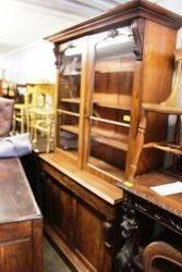 Mid C19th Mahogany 2 Door Bookcase C1840