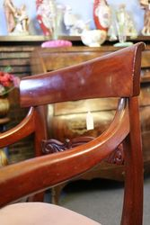 Mid C19th Mahogany Carver Chair C1860