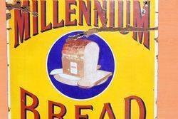 Millennium Bread Pictorial Enamel Sign