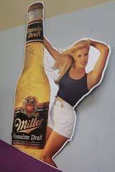 Miller Brewing Tin Advertising Sign