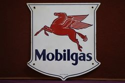 Mobilgas Advertising Sign