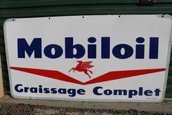 Mobiloil Graissage Complet Double Side Sign