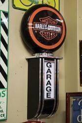 Modern Harley Davidson Motorcycle Garage Lightbox
