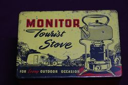Monitor Tourist Stove With Contents