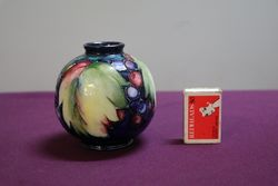 Moorcroft Leaf + Grape Design Potter to Her Majesty The Queen C192849