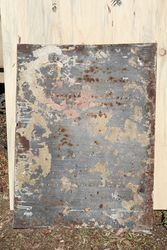 Morseand39s Calcarium Enamel Pictural Advertising Sign