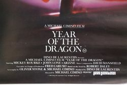Movie Posters andquotYear Of The Dragonandquot