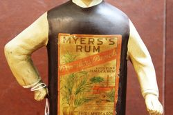 Myers Rum Rubberoid Figure