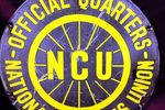 NCU National Cyclists Union Enamel Sign