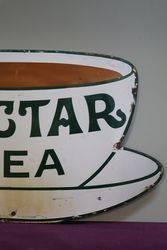Nectar Tea Enamel Advertising Sign