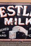 Nestle Milk Pictorial Enamel Sign