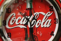New Coca Cola Neon Light Clock