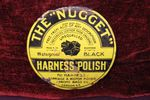 Nugget Harness Polish  Small Round Enamel Sign