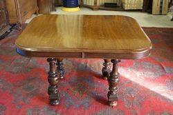 Oak Extendable Table