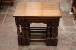 Oak Nest Of Table