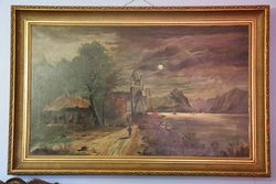 Oil Painting By E Troup 1897