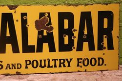 Old Calabar Dog Food Enamel Advertising Sign