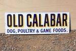 Old Calabar Food Enamel Sign
