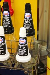 Original Esso Extra Motor Oil 10 Bottle Oil Rack