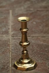 Pair Of 19th Century Brass Candlesticks
